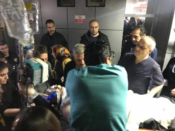 Gümüşhane 2'nci Sınıf Emniyet Müdür yardımcısı Bülent Pehlivan  geçirdiği kalp krizi sonucunda Gümüşhane Devlet Hastanesinde  tedavi altına alındı