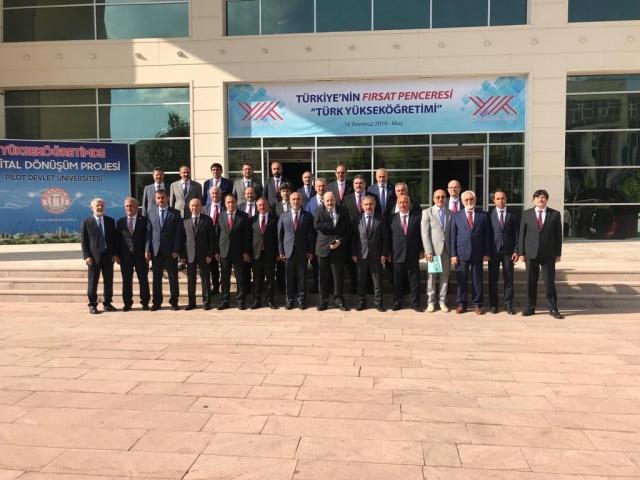Gümüşhane niversi, Yükseköğretim Kurulunun (YÖK) koordinasyonunda yürütülen ve Türk Yükseköğretim tarihinde bir ilki oluşturacak olan 'Yükseköğretimde Dijital Dönüşüm Projesi' içerisinde yerini aldı.