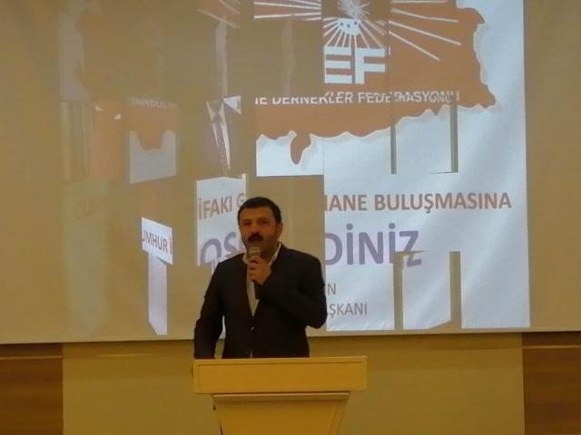 Gümüşhane Ak Parti İl Başkanı Celalettin Köse ve MHP il Başkanı Nedim Aydın 23 Haziran'da İstanbul'da yapılacak olan Cumhur İttifakı İstanbul Büyükşehir Belediye Başkan Adayı Binali Yıldırıma destek için İstanbul'a Gümüşhane çıkarması yapıldı.