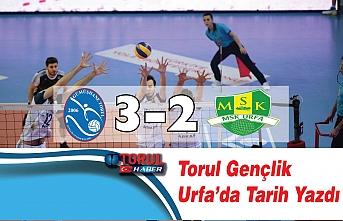 Torul Urfa'yı 3-2 vurdu