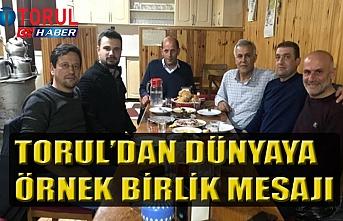 Torul'dan Dünyaya Örnek Mesaj