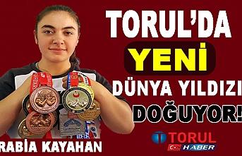 Torul'dan yeni Dünya Yıldızı Doğuyor!
