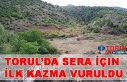 Torul'da Sera İçin İlk Kazma Vuruldu