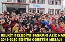 Kelkit Belediye Başkanı Aziz Nas 2019-2020 Eğitim...