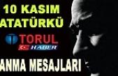 10 Kasım Atatürk'ü Anma Günü Mesajları