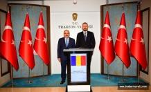 Romanya Ankara Büyükelçisi Trabzon'da