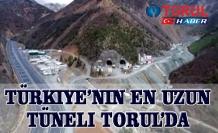 Türkiye'nin en uzun Tüneli Torul'da