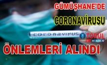 Gümüşhane'de Korana Virüsü Önlemleri