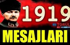 19  Mayıs Atatürk'ü Anma  Gençlik ve Spor Bayramı Mesajları