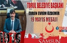 Başkan Evren Özdemir'in 19 Mayıs Mesajı