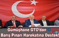 Gümüşhane GTO'dan Barış Pınarı Harekatına Destek!