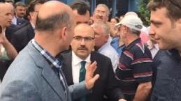 Trabzon'da Soylu 'ya Tehdit Sözleri