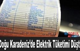 Doğu Karadeniz'de Elektrik Tüketimi Düştü
