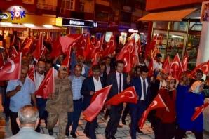 Torul'da 15 Temmuz Demokrasi ve Milli birlik günü etkinlikleri düzenlendi