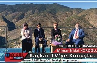 Başkan Nidai Köroğlu Kaçkar TV'ye Konuştu