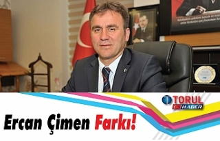 Ercan Çimen Farkı!