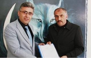 Mhp Torul Belediye Başkanlığı için ilk başvuruyu...