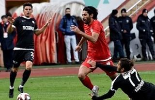 Ğümüş Kastamonuspor 1966 takımına 2-1 mağlup...