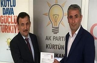 AK Parti  İlçe Başkanı istifa etti