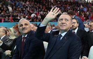 AK Parti'nin Trabzon ilçe belediye başkan adayları...