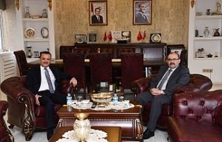 Trabzon Valisi , Gümüşhane Valisine iade-i ziyaret