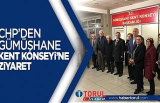 CHP'den Gümüşhane Kent Konseyine Ziyaret!