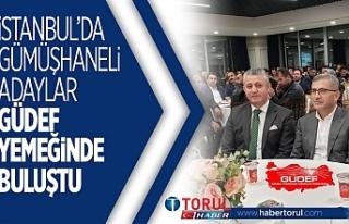 İstanbul'da Gümüşhaneli Adaylar GÜDEF yemediğinde...