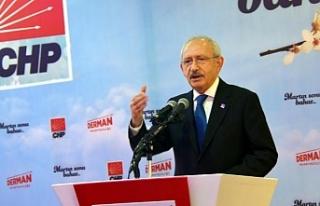 """Kılıçdaroğlu """"Bu iş, bir parti olma olayını..."""