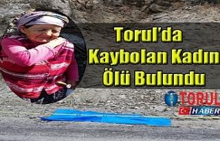 Torul'da Kaybolan Kadın Ölü Bulundu