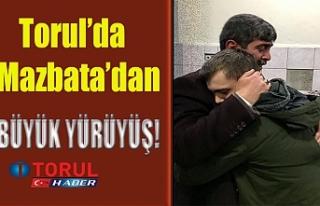 Torul'da Mazbatadan Sonra Yürüyüş