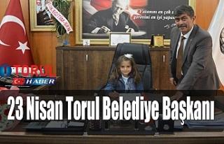 23 Nisan Torul Belediye Başkanı