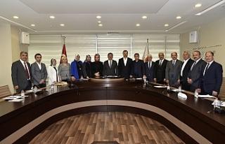 Başkan Çimen ilk Meclis Toplantısını Yaptı!