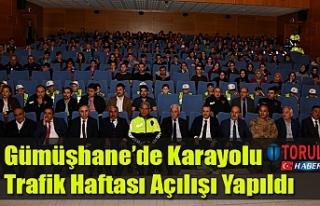Gümüşhane'de Karayolu Trafik Haftası Açılışı...