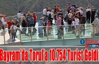 Bayram'da Torul'a 10.754 Turist Geldi