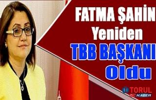 Fatma Şahin Yeniden TBB Başkanı oldu