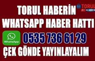 Torul whatsApp  Haber Hattı