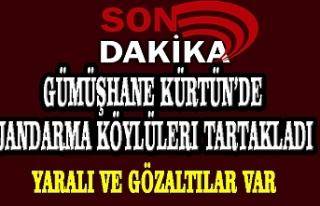 Gümüşhane Kürtün'de Jandarma Köylüleri...