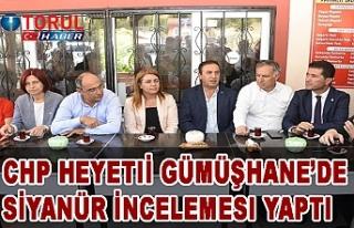 CHP Gümüşhane'de Siyanür sorununu TBMM'nin...