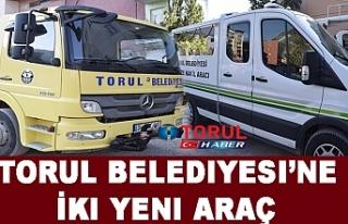 Torul Belediyesi'ne İki Yeni Araç