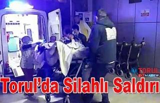 Torul'da Silahlı Saldırı