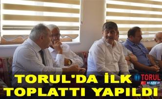 Torul'da İlk Toplattı Yapıldı