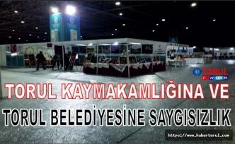 Torul Belediyesine ve Kaymakamlığına Saygısızlık