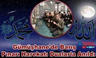 Gümüşhane'de Barış Pınarı Harekatı operasyonu dualarla anıld