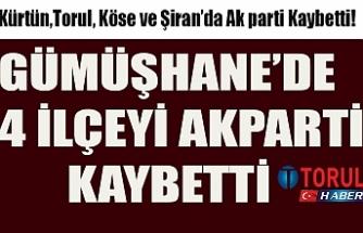 AK Parti 4 ilçeyi kaybetti