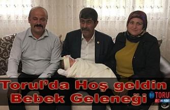 Torul'da Hoş geldin Bebek Geleneği