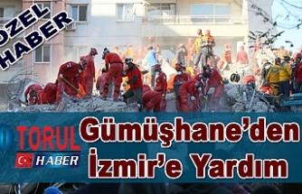 Gümüşhane'den İzmir'e Yardım