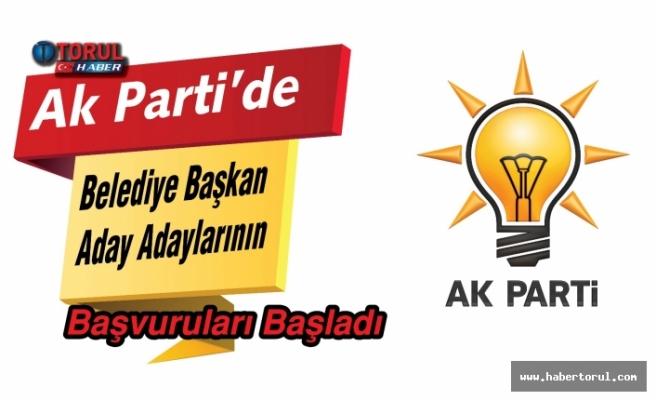 AKP'de Belediye Başkan Aday Adaylarının Başvuruları Başladı