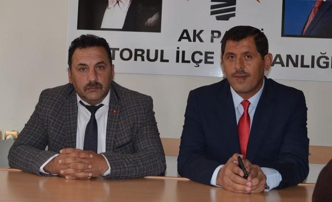 Hacı Selvi Aday adaylık Müracaatını Yaptı