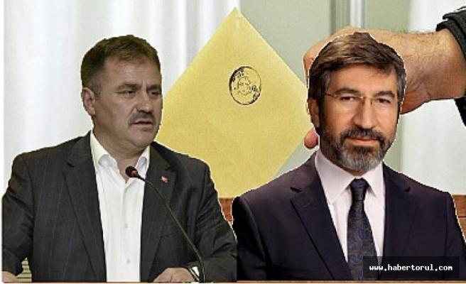 Gümüşhane Belediye Başkanı Ercan Çimen, MHP adayı Sabri Varan'ı arayarak başarı diledi.