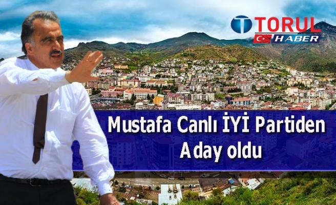 Mustafa Canlı İYİ Partiden  Aday oldu